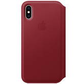 Iphone X Leather Case Folio